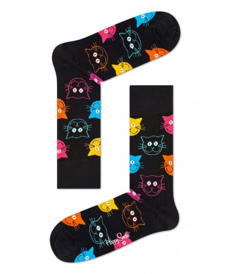 Chaussettes hautes Happy Socks Chat Taille 41-46