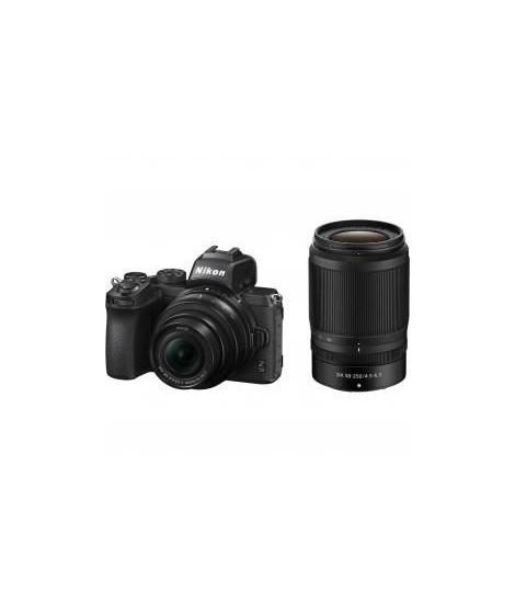 NIKON - Pack appareil photo Hybride Z 50 + Objectif NIKKOR Z DX 16-50 VR + Objectif 50-250 VR