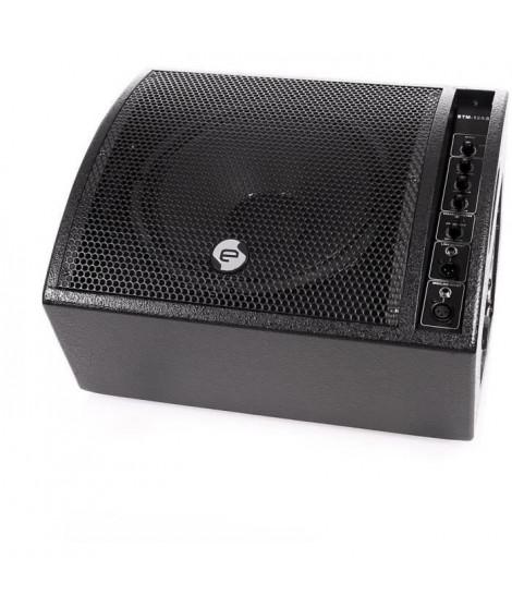 ELOKANCE STM 12AS Enceinte retour de scene amplifiée - 180W - HP 12 - Filtre anti-larsen réglable, EQ 3 bandes, entrée MIC/line