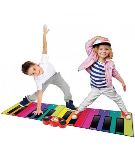 Rainbow Colours Tapis Piano géant et Fun pour Enfants