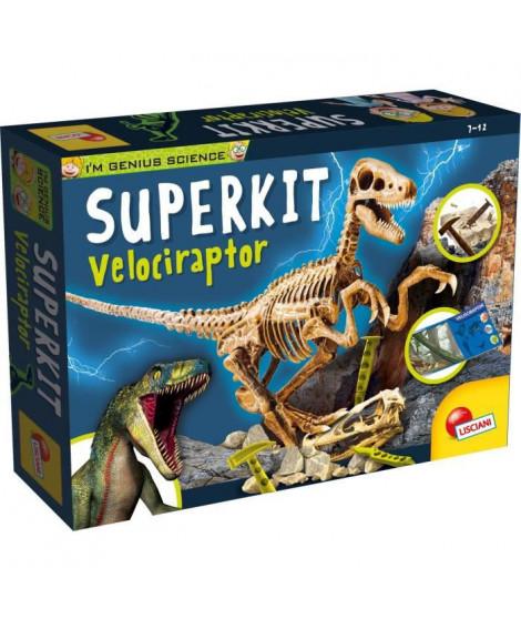 I'M GENIUS Super Kit Velociraptor New Pour Enfant