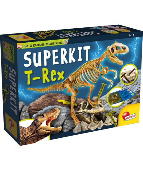 I'M GENIUS Super Kit T-Rex New Pour Enfant