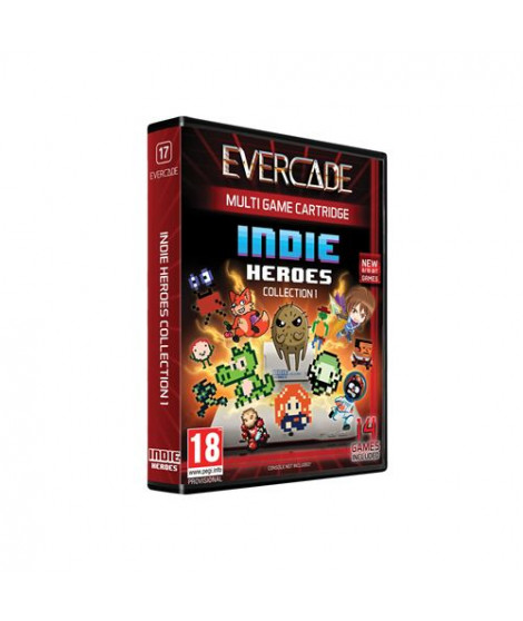 Cartouche Evercade Multi Game Indie Heroes Collection 1