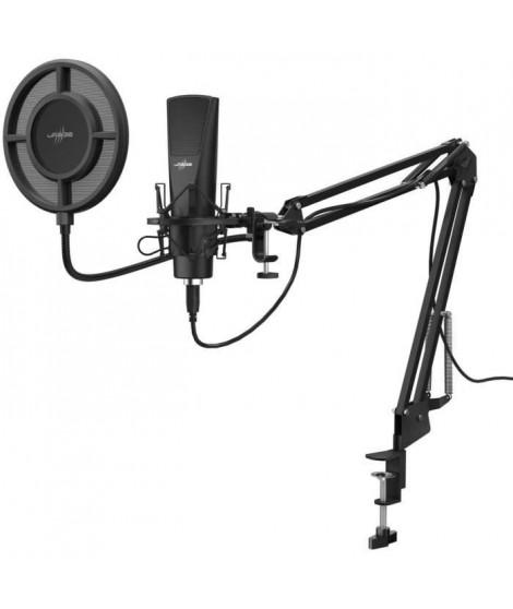 Microphone Streaming + Bras Articulé - URAGE - Stream 800 HD Studio (00186020)