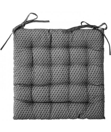 Galette de chaise Otto - 38 x 38 cm - Gris