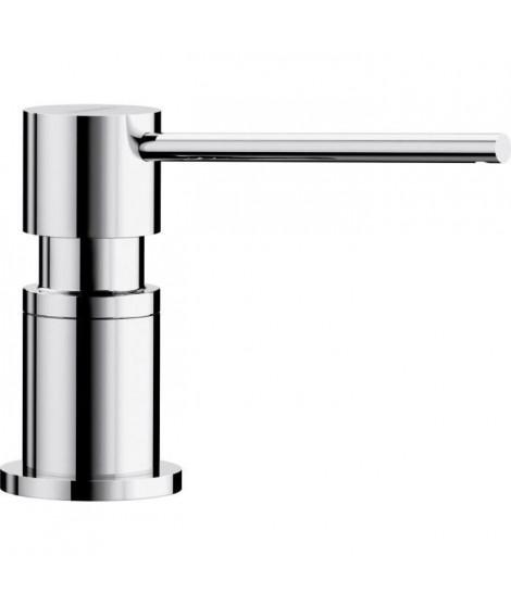 Distributeur de savon, liquide vaisselle d'évier, a encastrer, accessoire cuisine, BLANCO LATO chromé, contenance 300ml