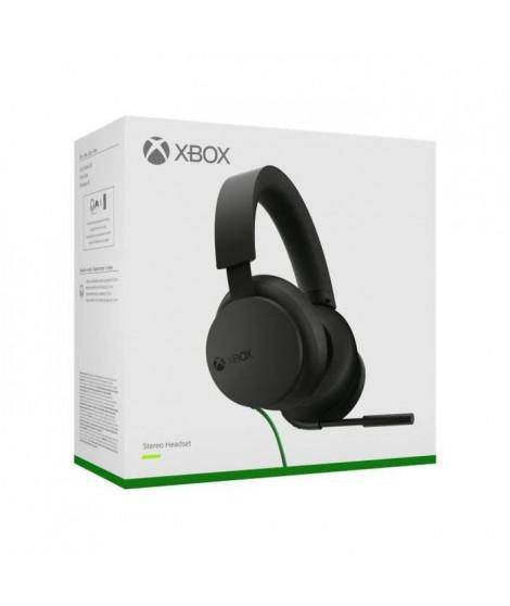 Casque-Micro Stéréo filaire pour Xbox Series X S, Xbox One et Windows 10 - Microsoft Officiel