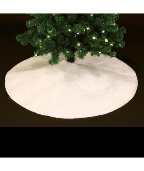 FEERIC LIGHTS & CHRISTMAS Tapis de sapin effet neige paillette - Ø 100 cm