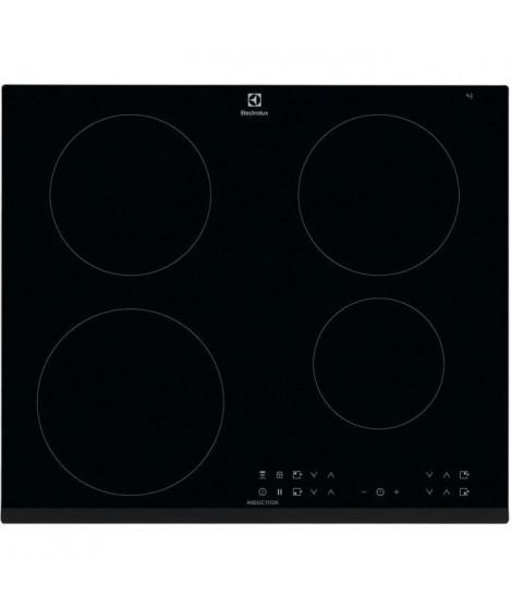 ELECTROLUX LIT6043 - Table de cuisson induction - 4 zones - 7350 W - L 59 x P 52 cm - Revetement verre - Noir