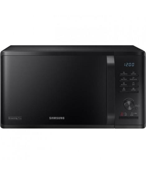 SAMSUNG - Micro-ondes Gril 23l/Contrôle électronique + Bouton/Fonction maintien au chaud/Fonction Quick Defrost/Fonction Brow…