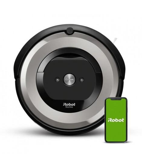IROBOT ROOMBA E5154 Aspirateur robot connecté - Batterie 1800 mAh Lithium Ion - 0,6 L