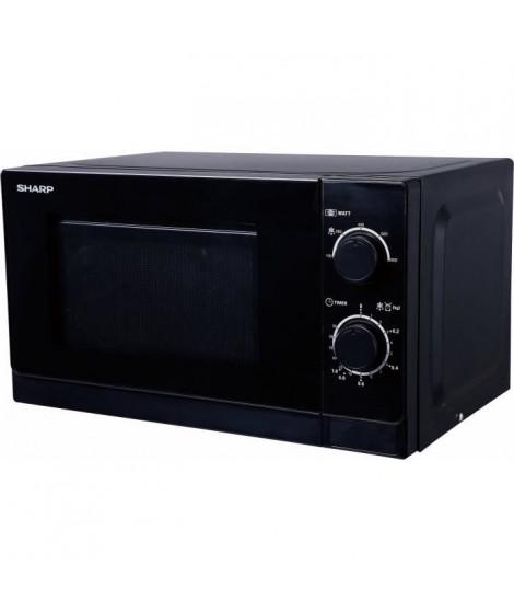 SHARP - R-200BKW - MWO Micro - ondes -  20 L - 800W - 5 niveaux de puissances - Noir
