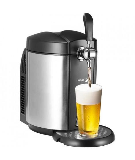 FAGOR FG317 - Tireuse a biere - Compatible avec les fûts universels de 5L - 65W - Systeme de refroidissement intégré - Corps …