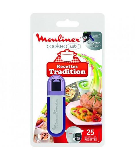 MOULINEX XA600211 Clé USB theme traditions pour Cookeo