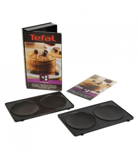 TEFAL Accessoires XA801012 Lot de 2 plaques pancakes Snack Collection