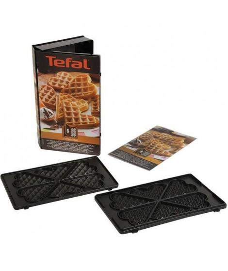 TEFAL Accessoires XA800612 lot de 2 plaques gaufrettes coeur Snack Collection