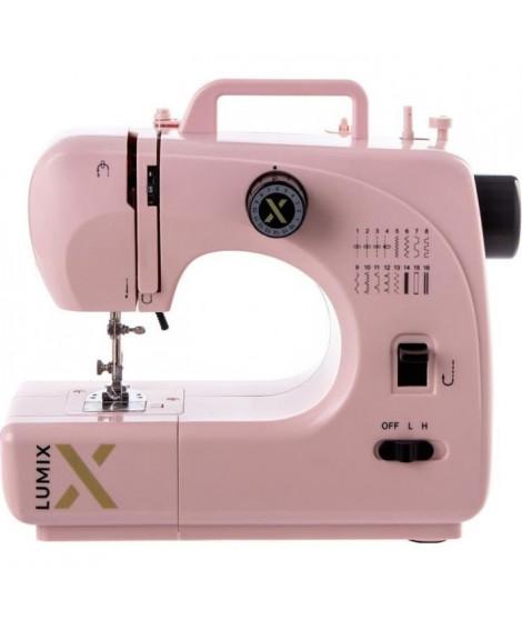 LUMIX - Machine a coudre - LUMIX16/PGD - 16 programmes - Rose