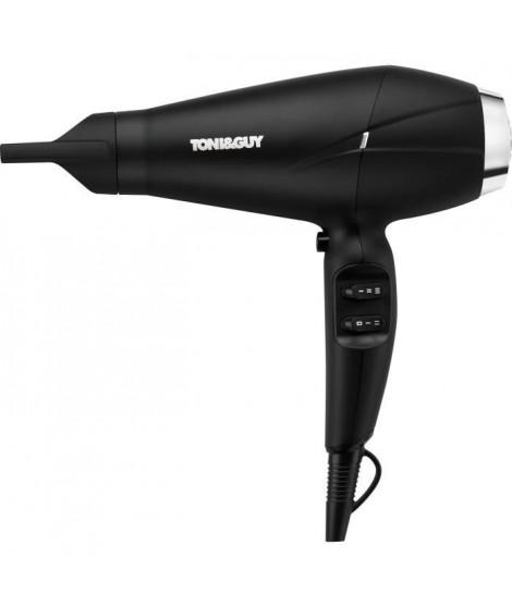 TONI&GUY- TGDR5374UKE- Seche Cheveux Volumateur Brush&Shine 2 en 1- Noir