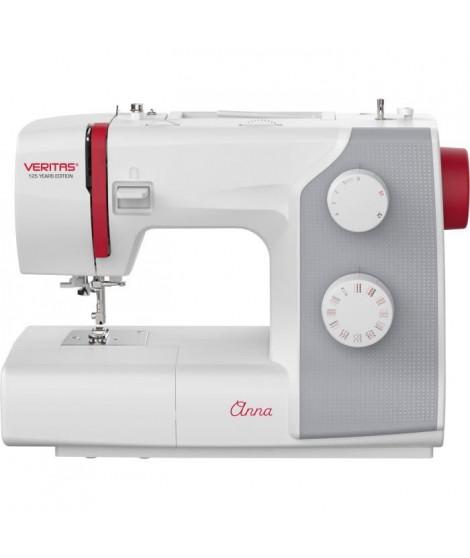 VERITAS ANNA - Machine a coudre 32 programmes - Boutonniere automatique 1 étape - Vitesse (rpm) : 750+/-50 - Coupe-fil intégré