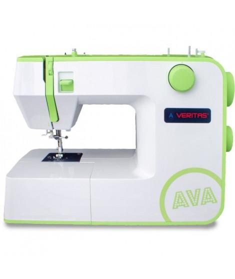 VERITAS AVA - Machine a coudre 12 programmes - Boutonniere automatique 1 étape - Molettes Soft-touch - Vitesse (RPM): 750+/-50