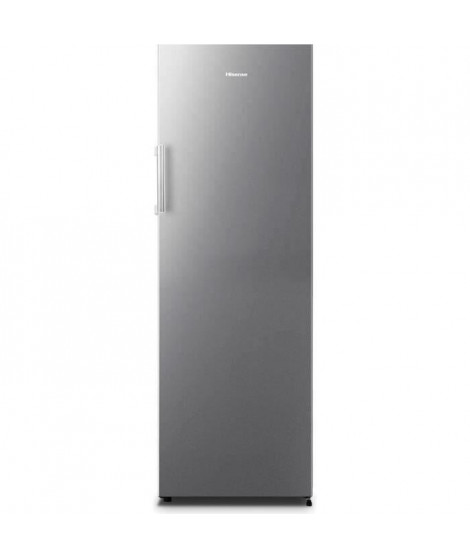 Hisense  - FV240N4AW1 - congélateur armoire - 186L - no frost - A+ - 58,2 x 58 x 173,9 cm - silver