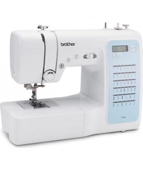 BROTHER FS40s Machine a coudre électronique-40 points de couture-Systeme d'enfile-aiguille-Ecran LCD-Touches de sélection-Bra…