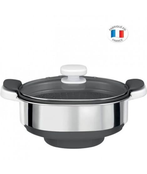 MOULINEX Accessoires XF384B10 Cuiseur vapeur pour robot cuiseur Companion
