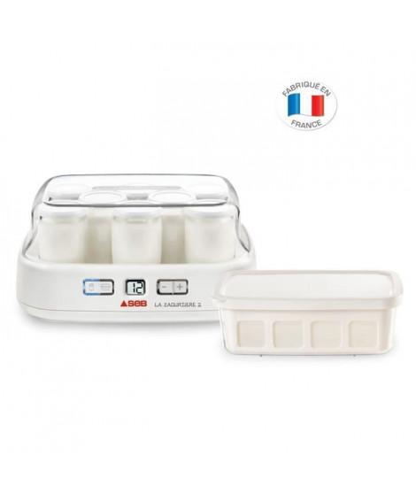SEB - Yaourtiere « la Yaourtiere» 2 - 8 pots - YG500100