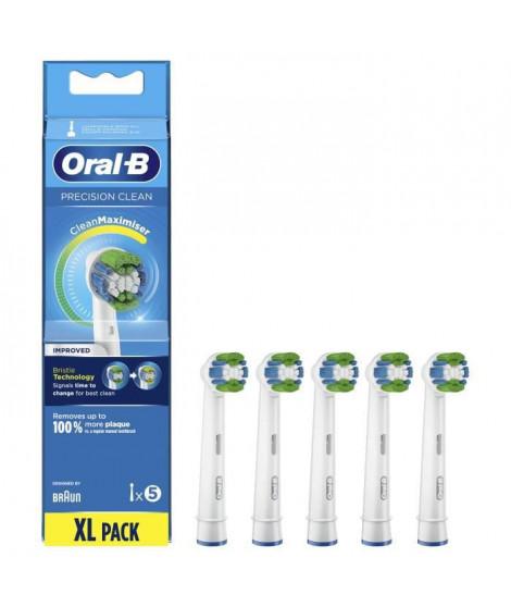 Oral-B Precision Clean Brossette Avec CleanMaximiser, 5