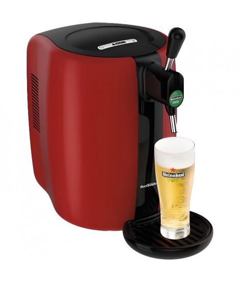 SEB VB310510 - Tireuse a biere Beertender - Compatible fûts 5 L - Noir / Rouge