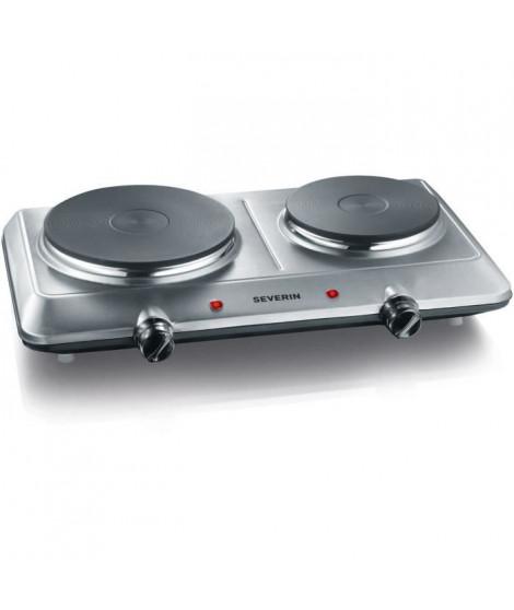 SEVERIN DK1014 Plaque de cuisson posable en fonte - Inox