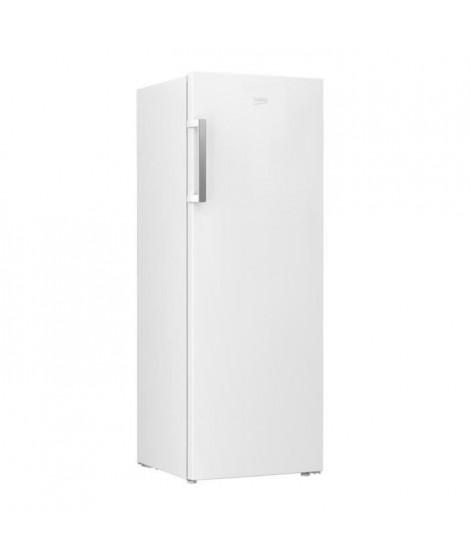 BEKO - RFNE290L31WN - Congélateur armoire - 250 L - Froid ventilé - A+ -  Blanc