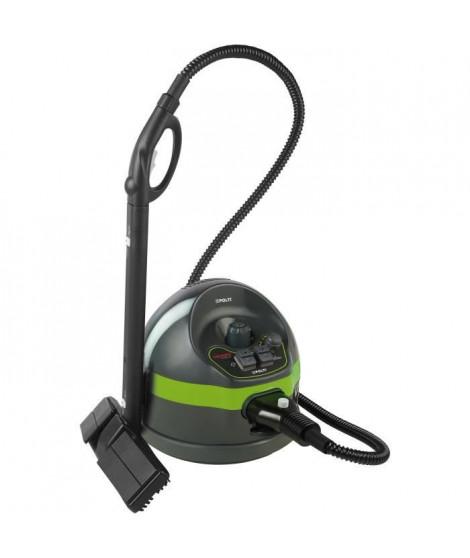 POLTI VAPORETTO - Classic 65 - Nettoyeur vapeur - autonomie limitée - 4 BAR - 110g/min - 1500W - 7 accessoires - Vert + Noir