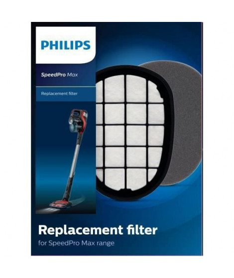PHILIPS FC5005/01 - Kit de filtres de rechange SpeedPro Max : 1 filtre de moteur en mousse lavable et 1 filtre-insert avec su…