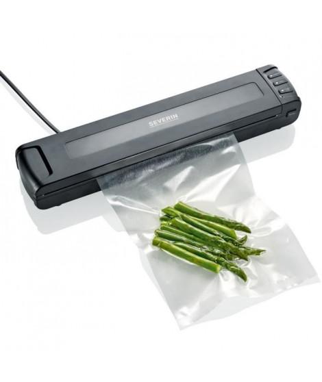 SEVERIN FS3601 Soude-sac compact - Mise sous vide et soudure automatiques - Conserve les aliments frais 8 fois plus longtemps…