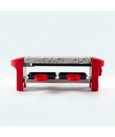 DOMOCLIP DOC156 Appareil a raclette 2 personnes – Rouge