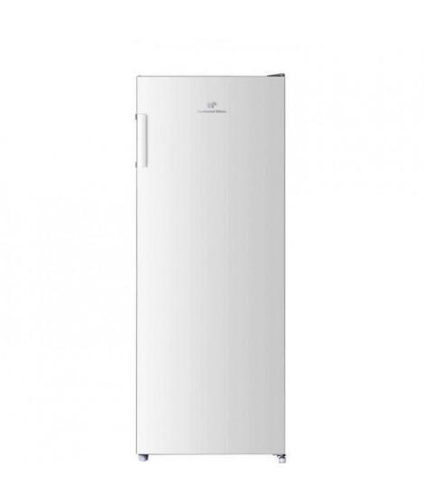 CONTINENTAL EDISON Congélateur armoire 166L, Total No Frost, Classe A+, L 54 cm x H 144,3 cm, Blanc