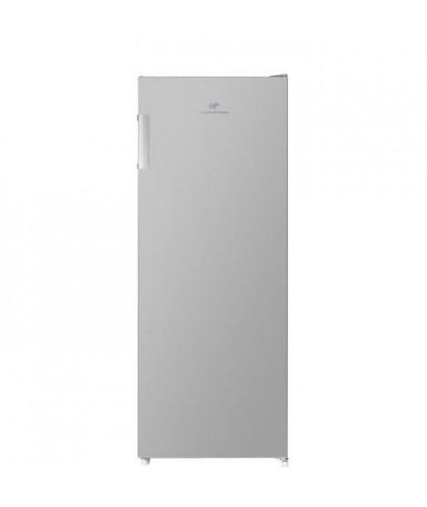CONTINENTAL EDISON Congélateur armoire 166L, Total No Frost, Classe A+, L 54 cm x H 144,3 cm, Silver