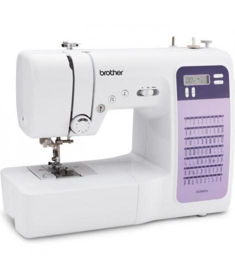 BROTHER FS70WTx Machine a coudre électronique - 70 points - Enfile-aiguille - Ecran LCD - Touches de sélection - Bras libre