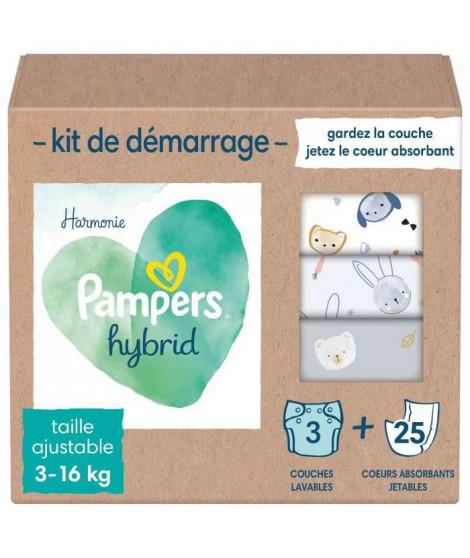PAMPERS Hybrid Kit couches lavables pour bébés x15