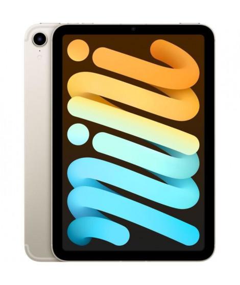 Apple - iPad mini (2021) - 8,3 WiFi + Cellulaire - 256 Go - Lumiere Stellaire