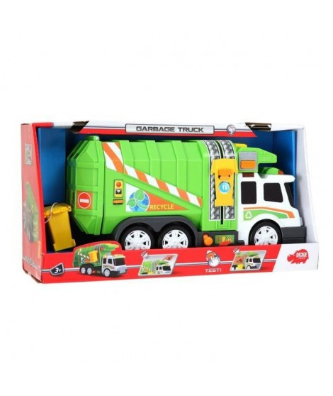 DICKIE TOYS Camion Poubelle