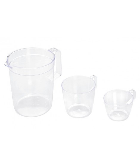 Lot de 3 verres doseurs, Lacor