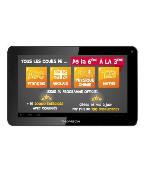TAB TEO QUAD 10 THOMSON 1G/ 8G Noir EDUCATION