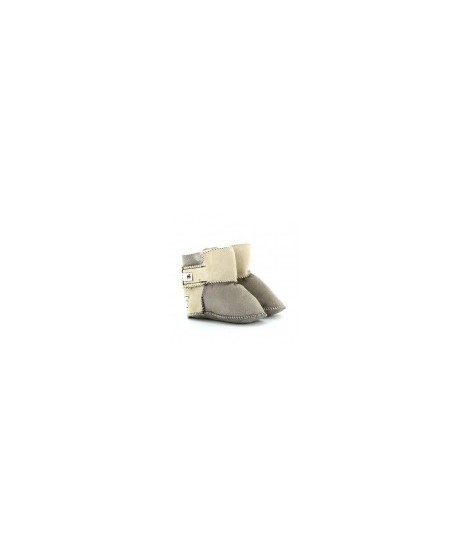 SHEPHERD Chausson Enfant Taupe taille 18-19