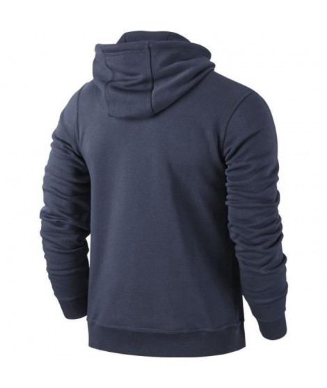 NIKE Sweat a capuche Team Club Hoody - Enfant - Obsidienne