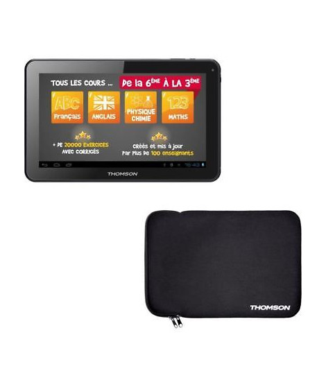 "THOMSON Tablette Tactile 10""1 - Processeur Quad Core A33 - RAM 1Go -Stockage 8 Go- Android 5.1"