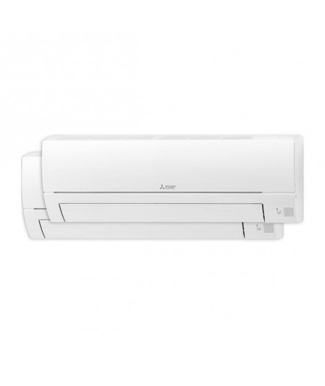 Air Conditionné Mitsubishi Electric MXZHR2525E40VF Split Inverter 2x1 A++/A+ 1720 fg/h Blanc