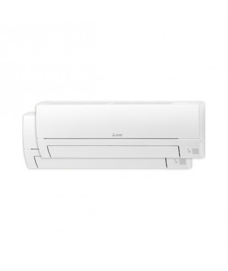Air Conditionné Mitsubishi Electric MXZHR2535E50VF 2x1 Split Inverter 2948 fg/h 2948 kcal/h A++/A+ Blanc