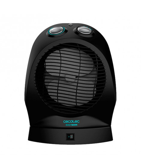 Thermo Ventilateur Portable Cecotec Ready Warm 9750 Rotate Force 2400W Noir